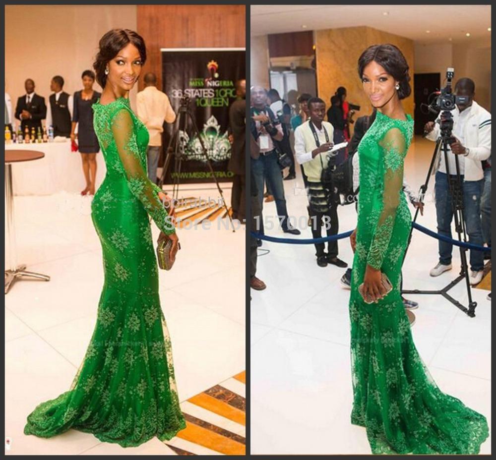Nigerian lace prom dresses