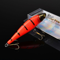 """2015 Top fishing bait 1color  Fishing Lures Design 3.5""""-8.9cm/12.32g-0.434oz fishing tackle 6# hook Retail box package"""