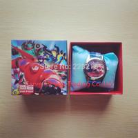 Free Shipping 1pc Big hero 6 baymax Watch, Children Quartz Watch with original box,birthday gift for children