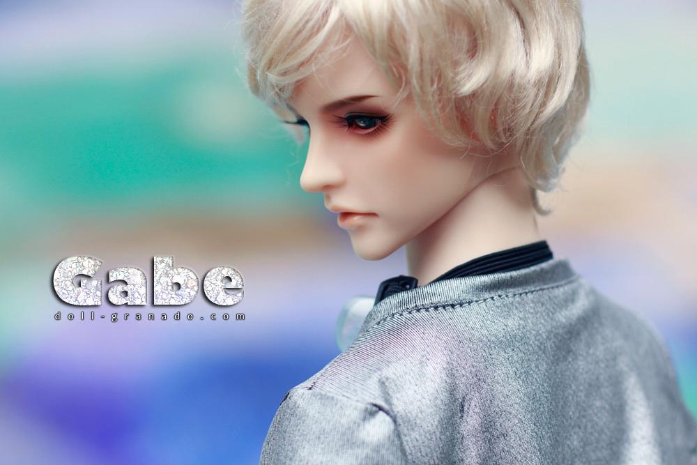 GRANADO-o o-Gab third saffron 1 / 3BJD prime head doll(China (Mainland))