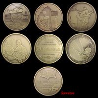 Set of the vietnam war, 6 different design Challenge COINS set 1959-1975 a living memorial  vietnam veterans day