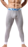 High Quality Men Cotton Bottoming Leggings Long Pants Thermal Underwear Free Shipping