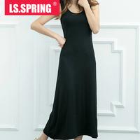 2015 Rushed Sale Vestido Vestidos Free Shipping Tropical Party Dresses Women's Modal Vest One-piece Dress Bohemia Elegant Basic