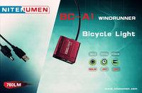Free Shipping!Genuine Nitenumen BC-A1 Cree XML-L2 760Lumens Waterproof Bike LED Torch Flashlight Bicycle Light