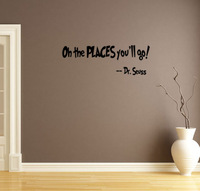 English Dr. Seuss wall stickers home decor trade  Amazon PVC wall stickers customized P157
