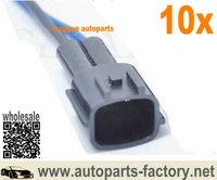 longyue 10pcs fuel injector male connectors case for 300zx 240sx 200zx silvia rb25det sr20 s13 r32