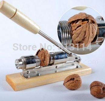 Chegam novas de aço inoxidável Rosenstein porca porca do clipe noz pecornut clipe biscoito quebra-nozes grátis frete(China (Mainland))