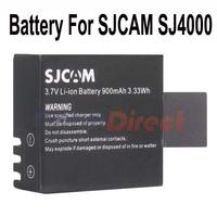 Original SJCAM battery 3.7V 900mAh Rechargeable Li-ion Spare Battery For SJCAM SJ4000 Battery Sports Action Camera Accessories