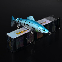 """2015 Top fishing bait 1color  Fishing Lures Design 5""""-12.7cm/17.44g-0.615oz fishing tackle 2# hook Retail box package"""