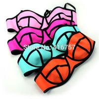 Four color neoprene classic swimwear swimsuit