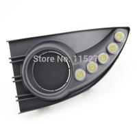 Car Daytime Running Lights LED DRL Daylight for Renault Fluence 2011 2012 (Pack of 2)