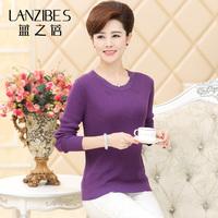 Autumn and winter silk sweater women sweater mulberry silk basic pullover outerwear long-sleeve sweater top