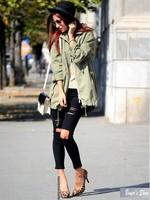 New 2015 women distressed jeans woman denim pants vintage ladies jeans