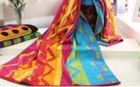 100% cotton bath towel 75x150cm 420g/pc bathroom products bathing gift wave