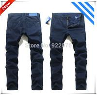 Free shipping 2015 Hot sale good quality  New  Men's Slim Brand Pants Men Trousers Famous Brand Pants Large Size Men's Clothing