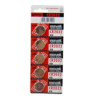 10pc Maxell CR2032 CR 2032 DL2032 3v Battery Button Cell Batteries