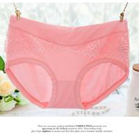 5 pieces mid waist seamless bamboo fibre briefs women's trigonometric panties cotton 100% cotton sexy underwear
