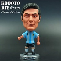 """Free shipping Soccer Argentina team Jersey 4# ZANETTI 2.5"""" Toy Doll Figure"""