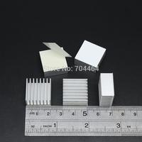 20mm x 20mm x 10mm Aluminium Adhesive Back Heatsink Cooler Fin For RAM GPU VGA Card IC LED Chipset VGA Cooling
