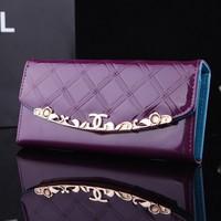 New Style High Quality Women Wallets Designer 2015 Fashion Leather Hasp Long Purse Women Travelers wallet Women Hand Bag Handbag