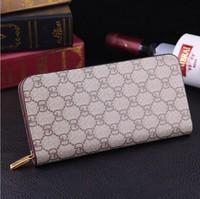 2015 fashion design genuine leather men's wallet, business style brand men's long wallet zipper wallet clutch Male Leather purse