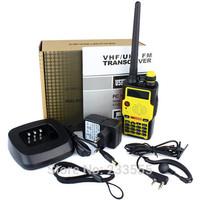 100% New BaoFeng BF-E500S Walkie Talkie Portable Two Way Radio VHF UHF 5W Dual Band Dual Display VOX Scan 128CH FM Radio