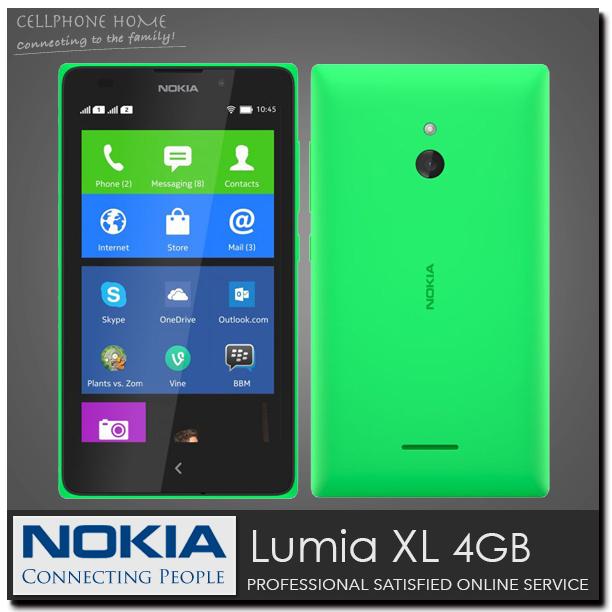 "XL 100% Original NOKIA Lumia XL Dual Sim Unlocked Mobile Phone 4GB Dual core 5.0"" IPS 5MP Camera 3G WIFI Refurbished(China (Mainland))"