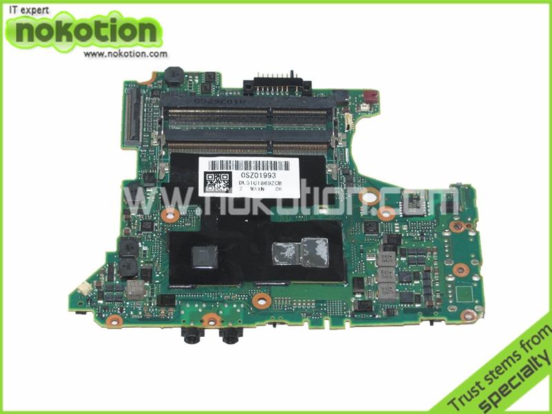 laptop motherboard for FUJITSU FJ-X7 UL31U1869ZCB DFUP1869ZE Mother Boards i5-520M QM57 GMA HD DDR3 Mainboard Full Tested(China (Mainland))