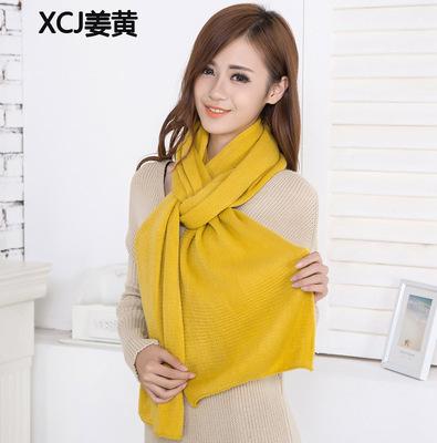 2015 мода женщин с длинным теплая зима шарф вязаный шарф шарф