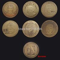 Set of diana Wholesale 6 pcs 1oz  princess Diana of wales Antique challenge coin