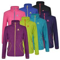 2015 outdoor hiking camping jacket windstoper waterproof thermal softshall jacket women fleece zipper polartec jacket yak