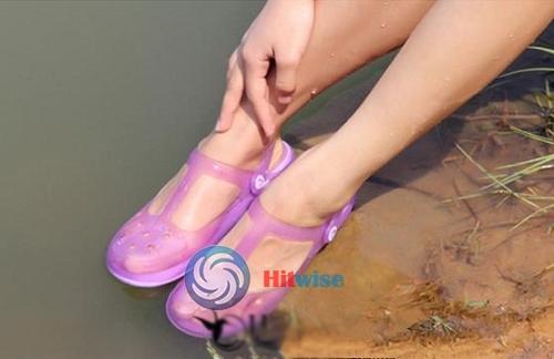 Leoniemart Fashion style Unisex Men Womens Foam Rubber Clogs Garden Sandals Shoes Slides Light Blue Practical!(China (Mainland))