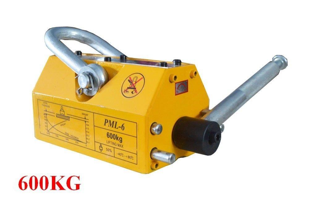 600 KG Steel Magnetic Lifter Heavy Duty Crane Hoist Lifting Magnet 1320lb(China (Mainland))