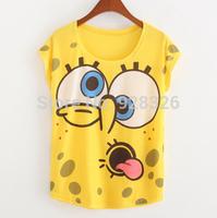 Hot selling!Hot sale!!! Free shipping 2015 Fashion Good Quality Cotton T Shirt Women Tops
