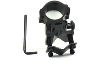 25mm scope mount ring 20mm rail for laser torch flashlight torch Hunting barrel support Barrel Mount