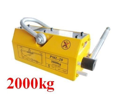 2000 KG Steel Magnetic Lifter Heavy Duty Crane Hoist Lifting Magnet 4400lb(China (Mainland))