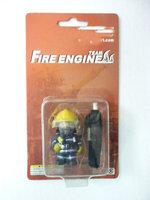 2015 fireman puppets fireman Vinyl Doll  fire department  firefighter accessories model fireman Action Figure Toy Gift