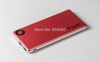 New Design 6000mah Ultrathin Power bank Dual USB Output Metal Frame YSXGT1
