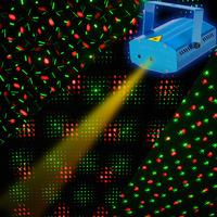 Sound Control Disco Magic New Mini Projector R&G DJ Disco Laser Light Stage Party Lighting Show