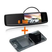 4.3 inch Car Rear View Mirror Monitor + Back Up Camera for Mitsubishi Pajero 2009-2012