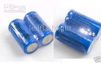 led flashlight battery UltraFire 16340 CR123A  RCR123A ICR123A Xenon Cree led flashlight Torch battery