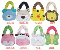 Free shipping Kids Girl Boy Baby Bib Animals Cotton Saliva Towel Waterproof Infant Lunch Bibs  Drop shipping