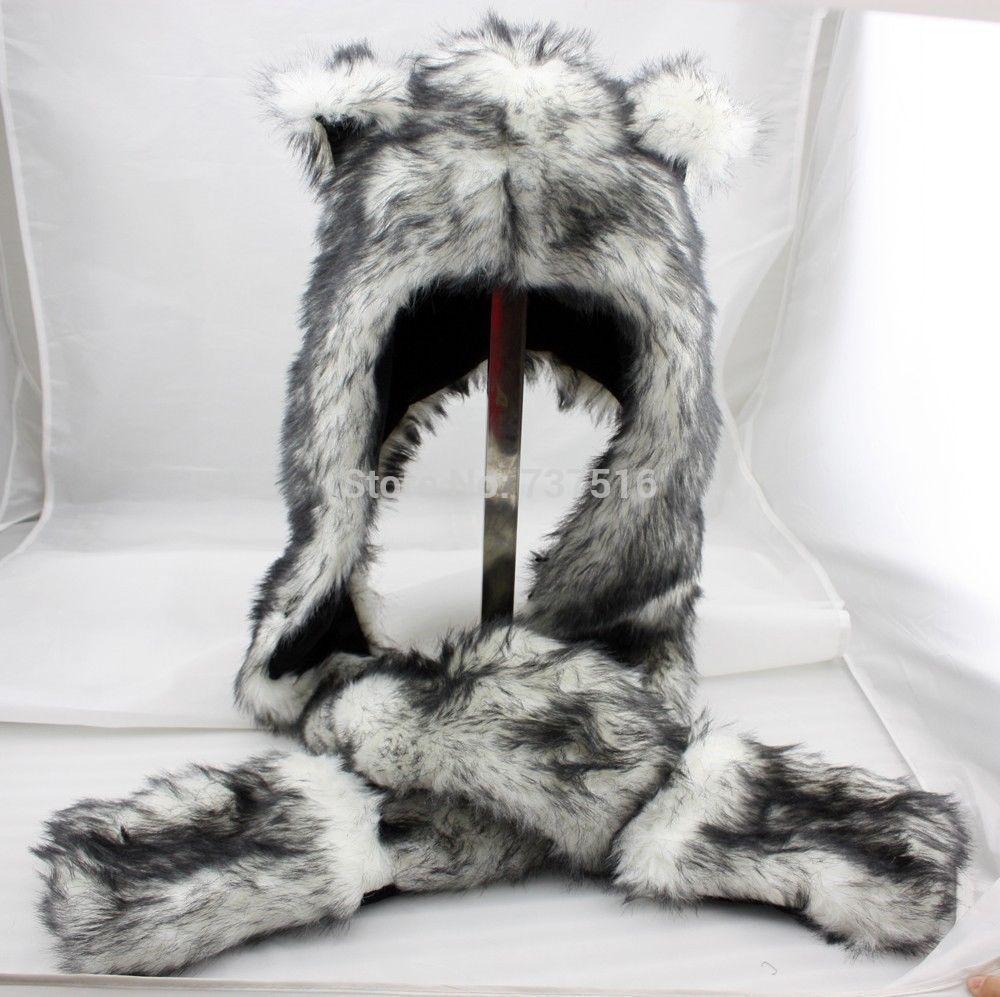 Spaniel Stuffed Animal Wolf Stuffed Animal Hood