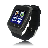 4 pcs/lot 3G ZGPAX S8 smart Watch Phone MTK6572W Dual Core 1.2GHz Android 4.4 OS 512MB 4GB GPS 3G
