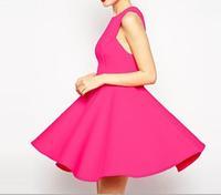 New fashion sweet temperament Slim waist tutu dress princess vest