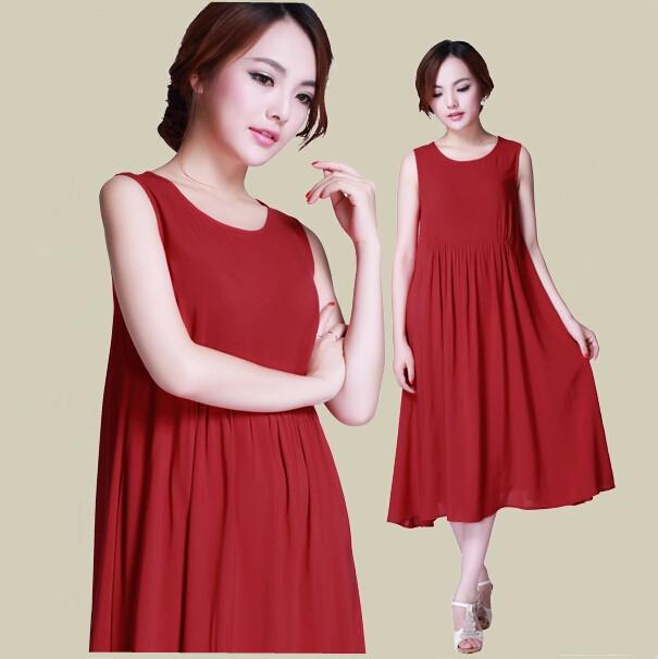 Plus size clothing S-5XL women good quality cotton linen casual dress,girl vintage summer dress,vestido femininos cheap clothes(China (Mainland))