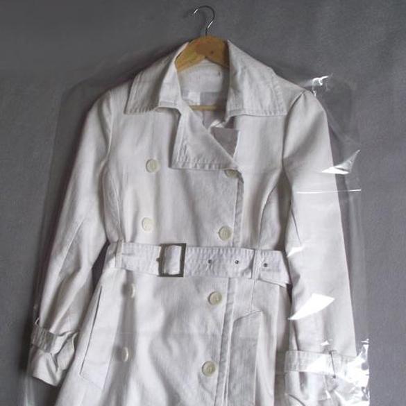 Free Shipping 10pcs Clothes Suit Garment Dustproof Cover Transparent Plastic Storage Bag K5BO(China (Mainland))