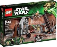 Original Brand Lego Blocks Bricks Learning Educational Models & Building Classic Toys 75017 Star Wars Series Duel on Geonosis