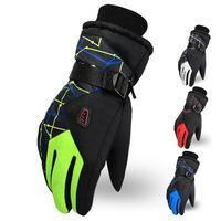Korean explosion models riding gloves warm gloves windproof ski gloves wholesale thick winter women