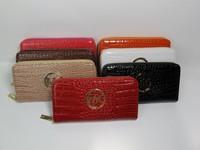 2015 new fashion carteira feminina wallet women wallets designer handbags high qualitycrocodile purse zipper clutch purse